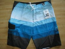 NEW BILLABONG SURF BOARDSHORTS SHORTS MENS 34 Blue Swimsuit $55 Retail