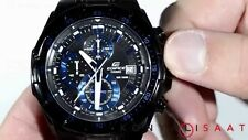 CASIO EDIFICE MENS WATCH EFR 539BK 1A2V BLACK CHRONOGRAPH GIFT 2YR WARRANTY
