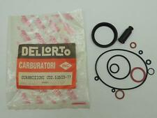 52523-77 NOS Dellorto Carburator Gasket Set Motorcycle W4703