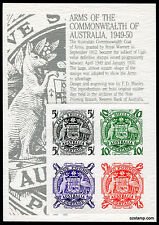Australia Replica Card #17 Coat of Arms Commonwealth Kangaroo Die Proof