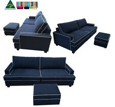 2.5 Seater Sofa_Piping_T seat cushions _Lounge Couch Sofa_Australian Made
