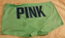 BNWT Victoria's Secret Pink Turquesa Seemless Hipster Bragas/Pantalones/Bragas S