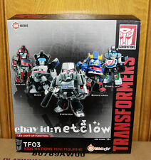 Transformers Kids Logic Kids Nations TF-03 Set of 5 LED Figure