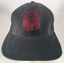 The Lion King The Broadway Musical Embroidered Lion Head Strapback Hat Disney