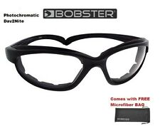 Bobster Mens Guys Sunglasses FAT BOY Photochromatic Day 2 to Nite Night Male Men