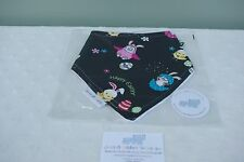 Handmade baby bandana bib girl/boy Happy Easter Bunny & Egg