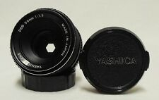 Yashica DSB f/1.9 50mm Prime Lens SLR Film Camera Y/C CONTAX DSLR Tested A-OK