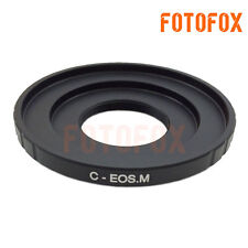 C-EOS M Adapter Ring Tube for 16mm C Mount Movie Film Lens to Canon EOS M Camera