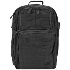 5.11 SECURITY RUSH 24 TACTICAL BACKPACK COMBAT PACK ARMY MOLLE GO BAG 34L BLACK
