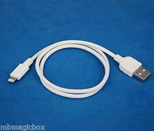 50cm Data Charger USB cable WHITE 4 iPhone 6s 6 Plus 5s iPad Pro Air 2 4 mini 3