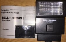 Bell & Howell Auto 28DT Flash Gun With Interchangeable Module O Olympus Camera's