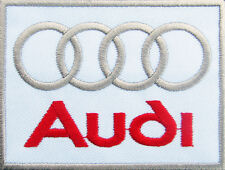 AUDI Sport Racing Advertising Embroidered Applique Iron on Patch DIY GERMANY