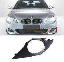 BMW E60 E61 M SPORT FRONT BUMPER FOG LIGHT COVER TRIM GRILL N/S LEFT 7896603 NEW