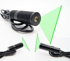 532nm 30mW Word Line Green Laser Module/Solid Structure with Power Adapter 1pcs