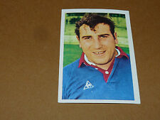 N°44 J-L. MARTIN AS BEZIERS RECUPERATION AGEDUCATIFS RUGBY 1971-1972 PANINI