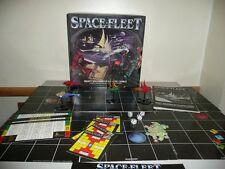 LOT JEU SPACE FLEET COMPLET + 9 VAISSEAUX METAL - GAMES WORKSHOP EXCELLENT ETAT