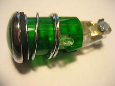 NEW VINTAGE BMW GREEN INDICATOR LIGHT FOR HEADLIGHT FITS MANY MODELS