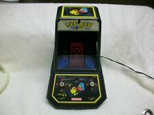 Vintage Coleco Pac Man Table Top Used Video Game