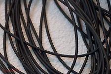Kautschukband Kautschukkette Kautschukschnur 3mm schwarz rund 1m Kautschuk NEU