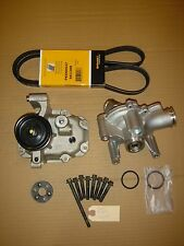 MINI Cooper Supercharger SNOUT KIT + NEW Water Pump + NEW Drive Belt