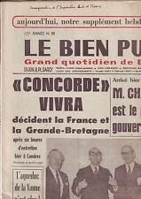 le bien public 23 avril 1971 -