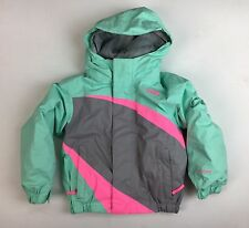 The North Face Girl's Youth Seafoam Green & Pink 2 in 1 Coat Jacket (Size 2T)