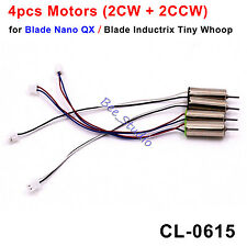 4PCS Fast Upgraded Motor CL-0615 Blade Nano QX Blade Inductrix Tiny Whoop Apex