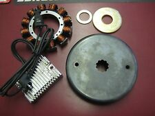 HARLEY STATOR ROTOR ALTERNATOR KIT 32 AMP 70-99 EVOLUTION BT SHOVELHEAD CUSTOM