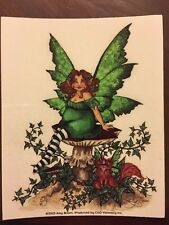 """AMY BROWN FAIRY STICKER-17 DECAL 4""""x5"""""""