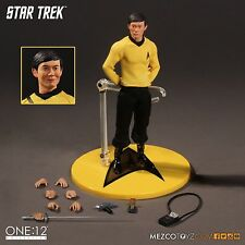 MEZCO TOYZ  ONE:12 COLLECTIVE STAR TREK SULU MIB 6 inch action figure ships free