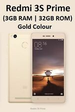 Brand New Xiaomi Redmi 3S Prime (32GB, Gold , 3GB RAM) MI India Warranty