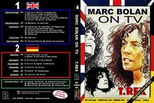 'MARC ON TV' DOUBLE DVD SET MARC BOLAN & T.REX IN THE UK & GERMANY REGION 1 NTSC