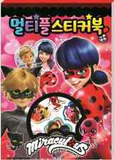 Miraculous Ladybug Cartoon Multiple Sticker Book For Children Kids Gift Toy Fun
