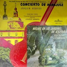 NARCISO YEPES ( Guitar ) ATAULFO ARGENTA - Rodrigo, Falla, Alhambra 1st Prs 1957