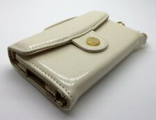 Pipetto Luxury Genuine Handmade Leather iPhone 4 Wallet Purse Case - Pearl