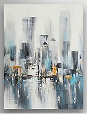 2016 NEW-Modern Abstract Art Canvas Handpainted Oil Painting Wall Decor No Frame