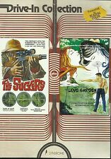 THE SUCKERS / LOVE GARDEN (DVD) OOP HTF Vinegar Syndrome Drive-In Collection