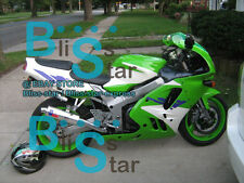 Green ABS Fairing Kit Fit Kawasaki Ninja ZX9R ZX-9R 1995 1996 1994-1997 07 A4