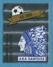 FOOTBALL 91 BELGIO Panini - Figurina-Sticker n. 140 - GENT SCUDETTO -New