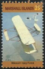 1903 Orville & Wilbur WRIGHT FLYER I Biplane Aircraft Stamp (Marshall Islands)