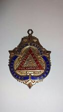 Vintage Sterling Silver & Enamel RAOB London Eastern Medal / Jewel
