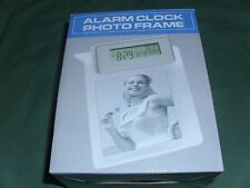 Alarm Clock Photo Frame , Desk Accessories, NEW  Home Office/Study,