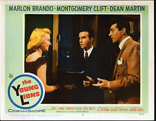 THE YOUNG LIONS original 1958 lobby card MONTGOMERY CLIFT/DEAN MARTIN/HOPE LANGE