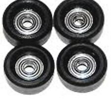 Free Ship 4 Pcs Bearing Wheels For Fingerboard Skateboard Maple wooden Deck M76