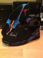 "Nike Air Jordan Retro 8 ""Aqua"" 3 Peat Chrome Bugs Bunny Playoffs Phoenix"