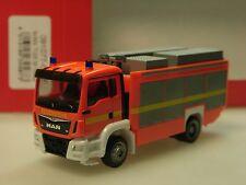Herpa MAN TGS M Euro 6 Rüstwagen RW2, leuchrot, Feuerwehr - 091077-002 - 1/87
