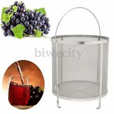 310x300mm Stainless Steel Home Brewing Wine Beer Dry Hops Filter Barrel Strainer