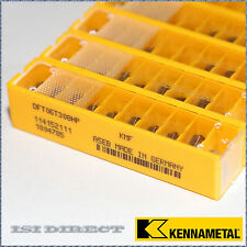 DFT 06T308HP KMF KENNAMETAL*** 10 INSERTS *** FACTORY PACK ***
