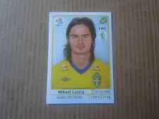 Vignette panini - Euro 2012 - Pologne / Ukraine - Suède - N°434 - Mikael Lustig