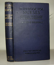 Text Book for Nurses. Anatomy, Physiologiy... Groves, 2nd ed, 1923 HB